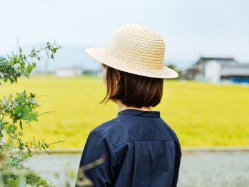 シンプル麦わら帽子イメージ3 - コピー